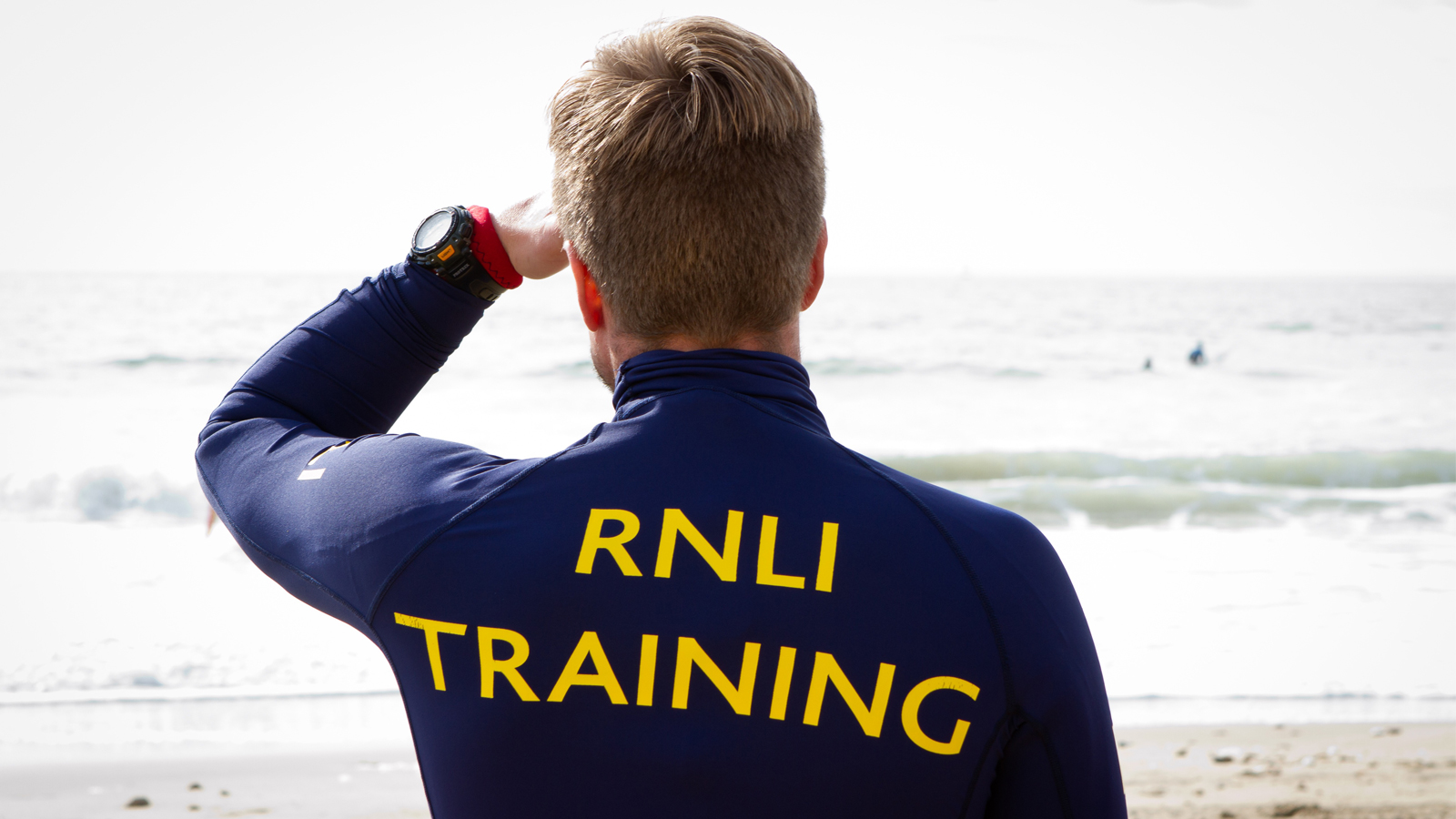 RNLI training in action